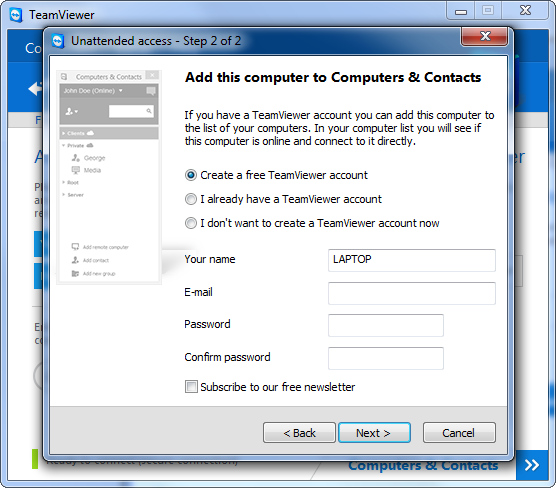 set-up-unattended-access-in-teamviewer