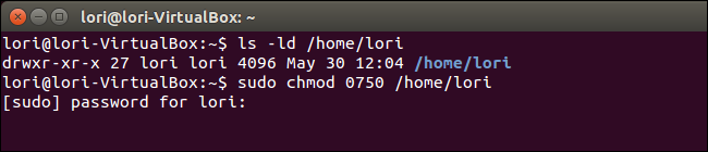 02_changing_permissions_for_home_folder