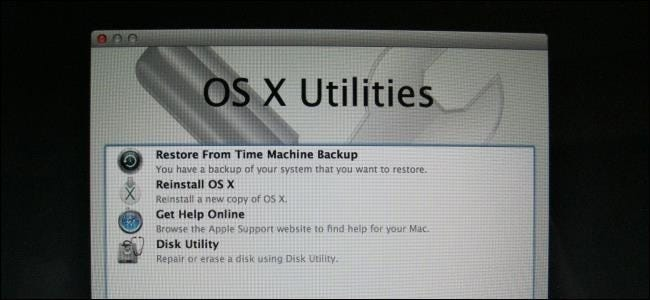how to run recovery on mac