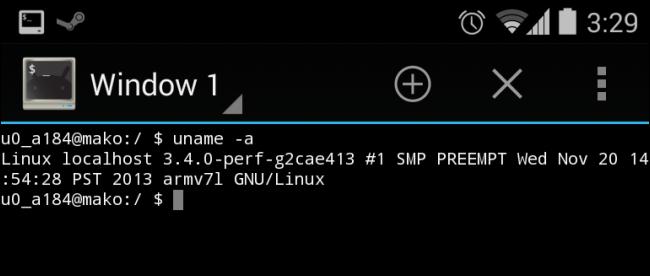 android-terminal-emulator-uname