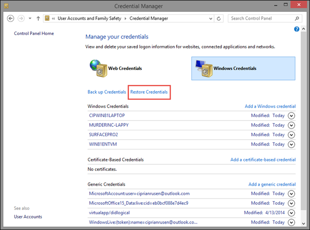 Network Security: Securing User Accounts and Passwords in Windows