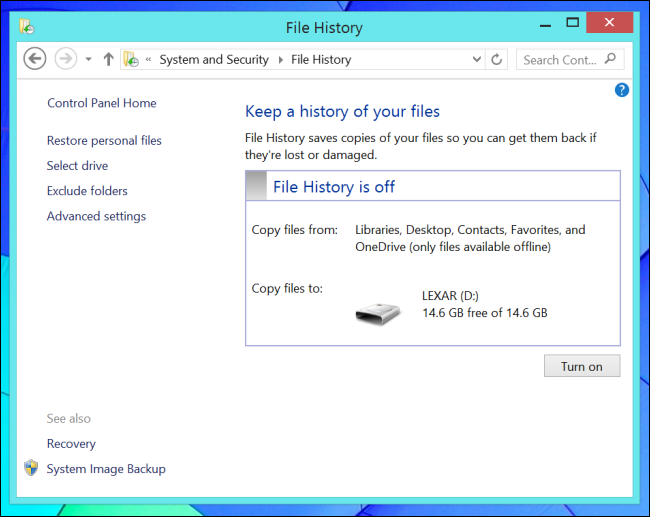 how to delete history on windows 8 laptop