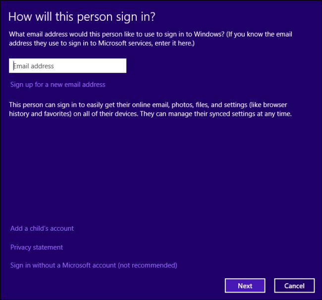 how to change microsoft local account