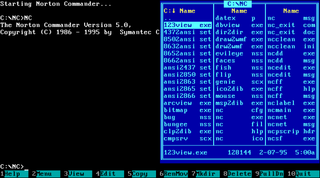 PCs Before Windows: What Using MS-DOS Was Actually Like