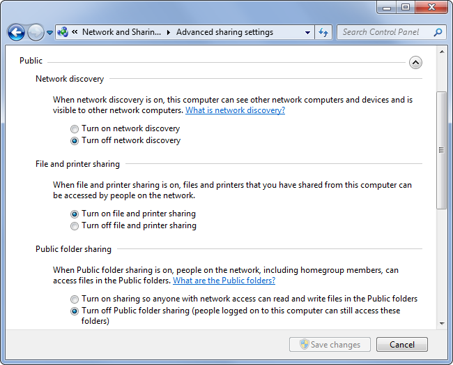 Read write access to shared folder windows 10