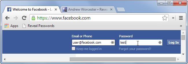 reveal-passwords-bookmarklet