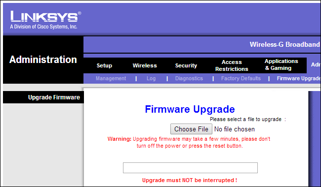 how to check your firmware on your router