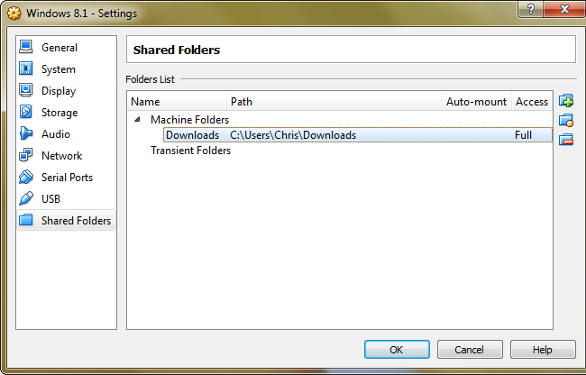 virtualbox-shared-folders
