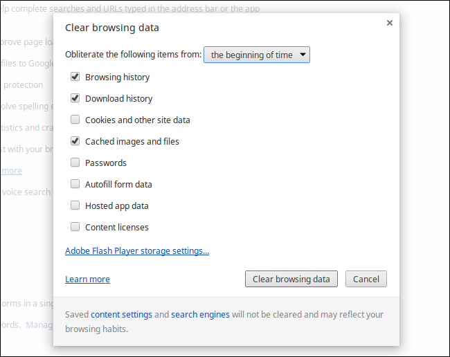 how to delete history on chromebook