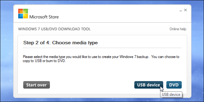 make a usb bootable windows 7 from dvd