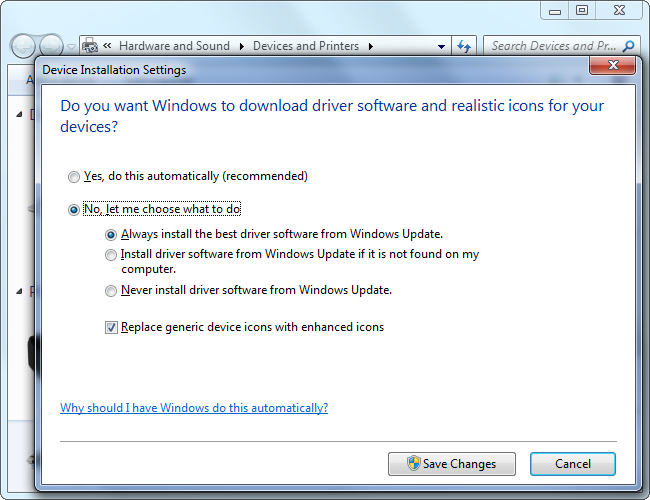 Should You Use the Hardware Drivers Windows Provides, or Download