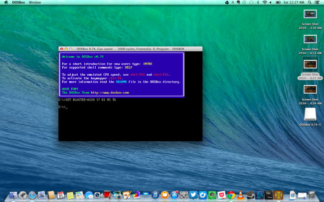 dosbox-on-mac