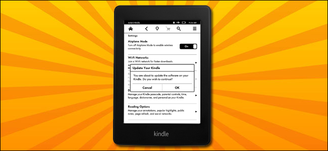 How to Manually Update Your Kindle