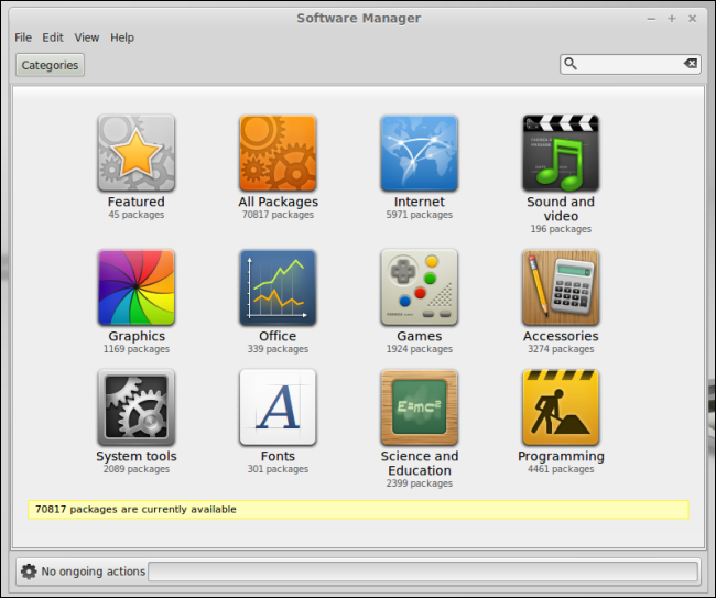 linux-mint-software-manager