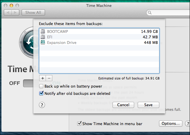time machine for macs