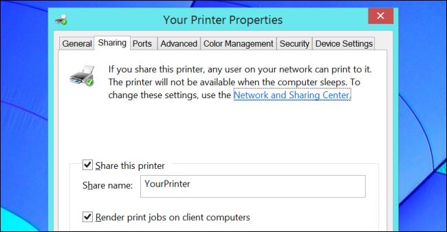 share-a-printer-on-windows