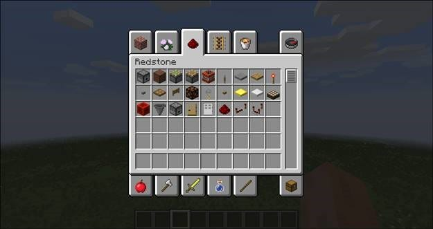 minecraft guide engineering with redstone rh howtogeek com Redstone Lamp Redstone Wire Mod