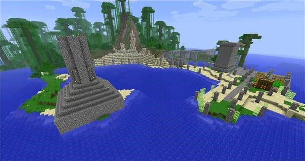 Building Your Survival Minecraft Base While In Creative