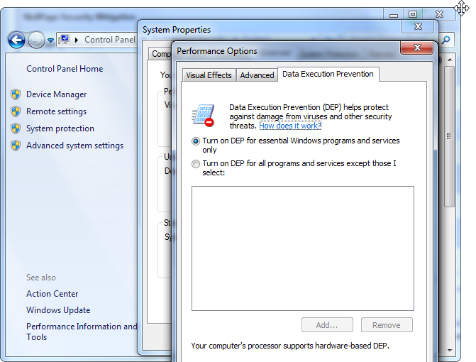 windows-7-data-execution-prevention