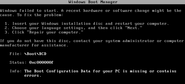 windows-boot-configuration-data-for-your-pc-is-missing