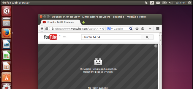 Ubuntu firefox flash player