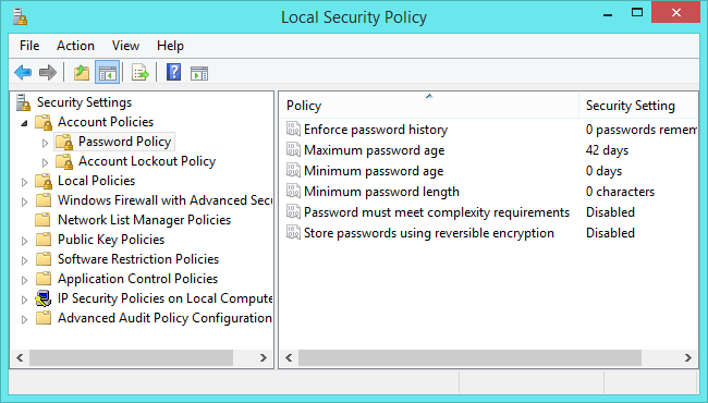 local-security-policy-tool
