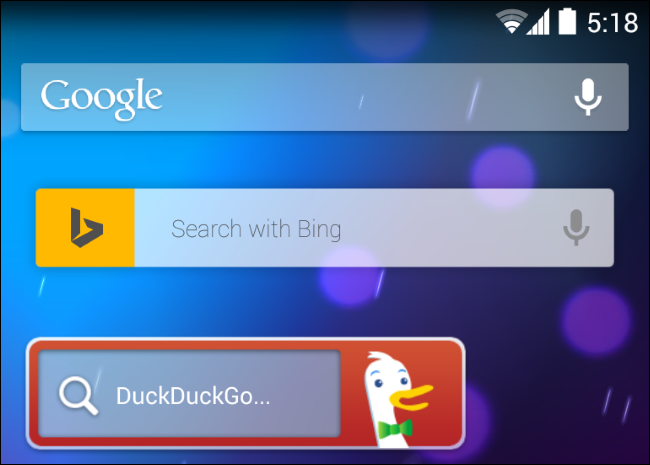 android-search-widgets