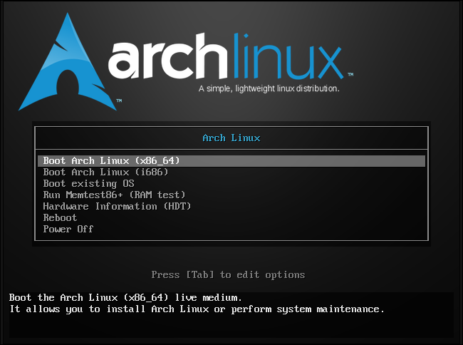 arch-linux-boot-installer