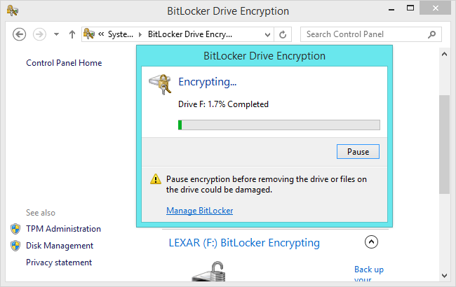 bitlocker-to-go