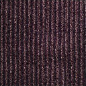 A close up view of a textured swatch of corduroy.