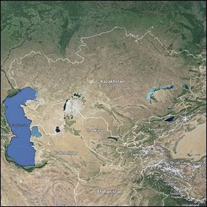 Geek Trivia The Largest Landlocked Country In The World Is - Largest landlocked country