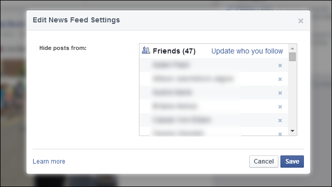 How to Unhide People In Your Facebook News Feed You've