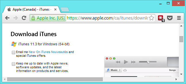 iTunes for Windows 10/8/7 Download Latest 64/32 bit