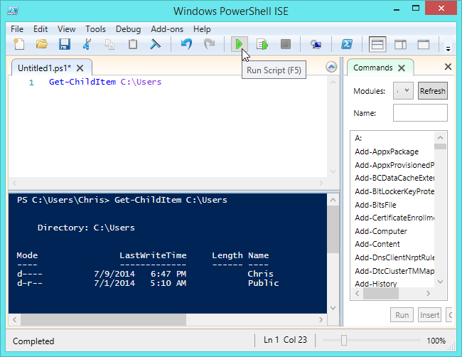 what-is-windows-powershell-ise