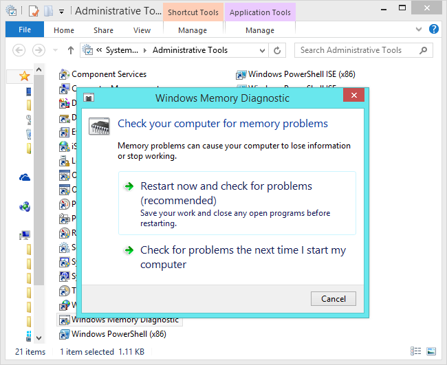 windows-memory-diagnostic-tool