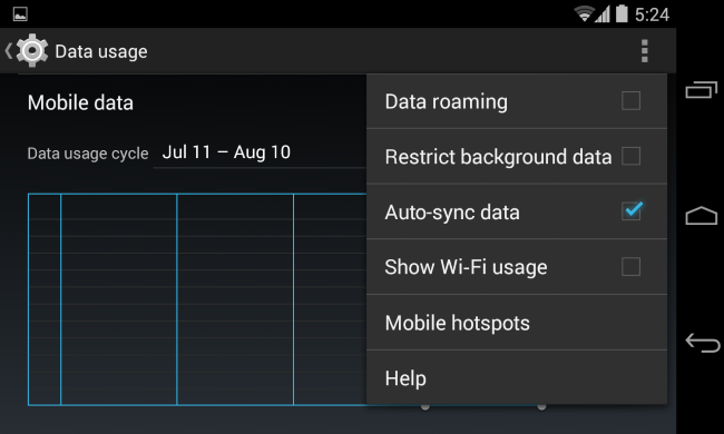 android-disable-auto-sync-data