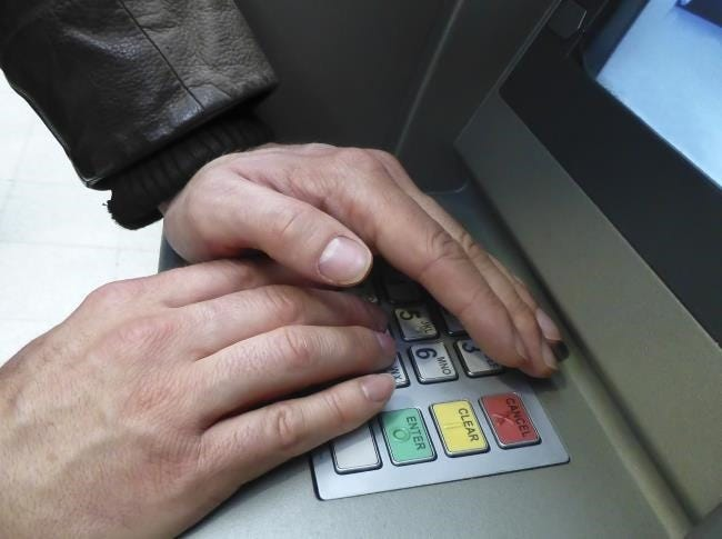 Image result for cover your pin atm