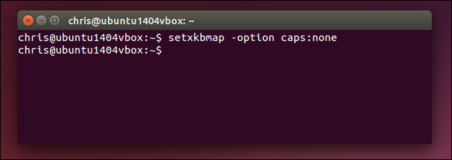 disable-caps-lock-with-setxkbmap