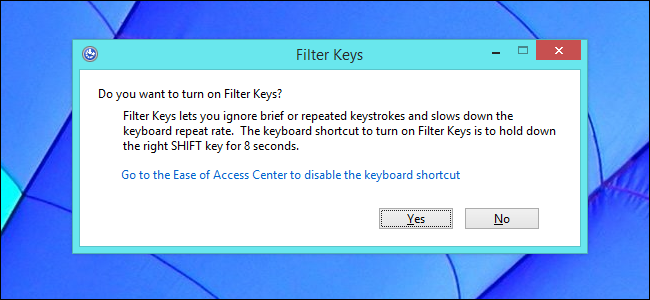 How to Prevent the Windows Key, Alt+Tab, and Sticky Keys