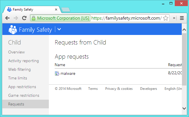 family-safety-app-restriction-request