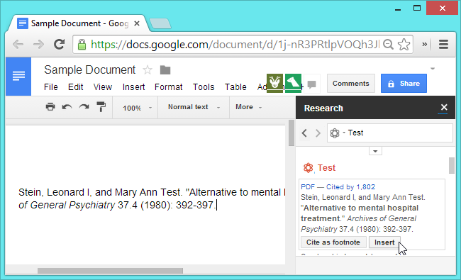 Extending google docs to collaborate on research papers deductive thesis