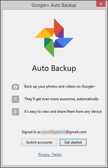 where did google auto backup come from and how do i get rid of it
