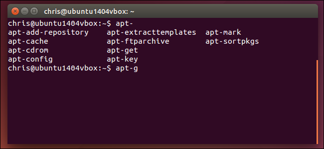 linux-bash-tab-completion-for-command
