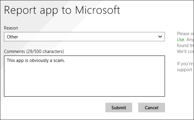 report-windows-store-app-to-microsoft