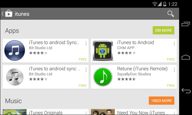 search-for-itunes-on-google-play