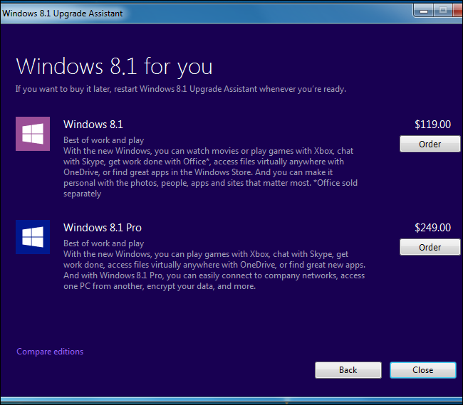 can i upgrade to windows 8.1 from windows 8