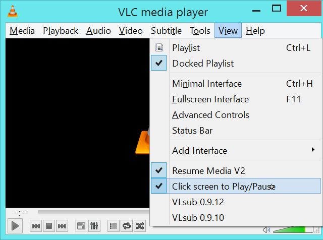 vlc-click-screen-to-play-pause-extension