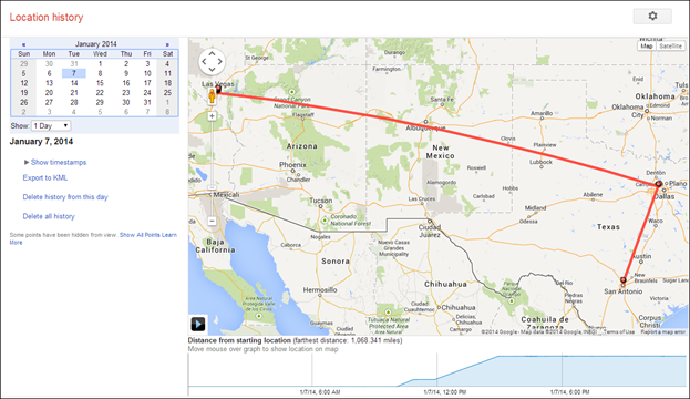 Google's Location History is Still Recording Your Every Move on