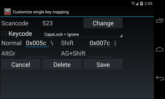 disable-caps-lock-on-android