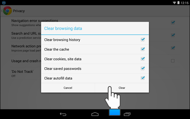 how to clear your browser history on chrome